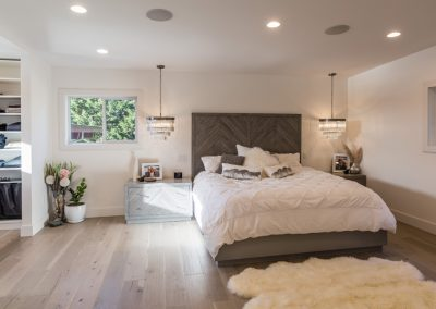 Contemporary Master Suite