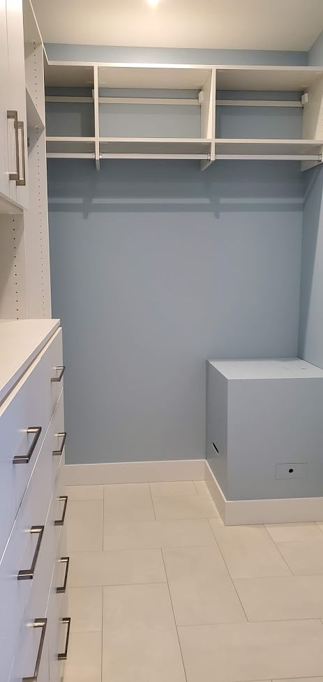 Drawers, Doors and Hanging